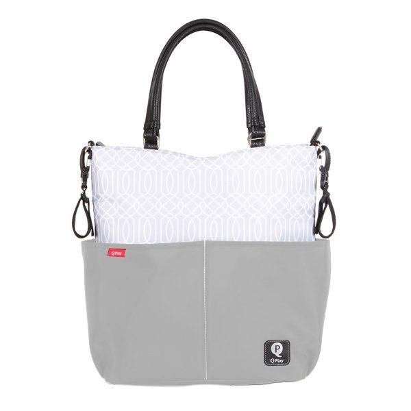 FASHION BAG GRIS MB001 01