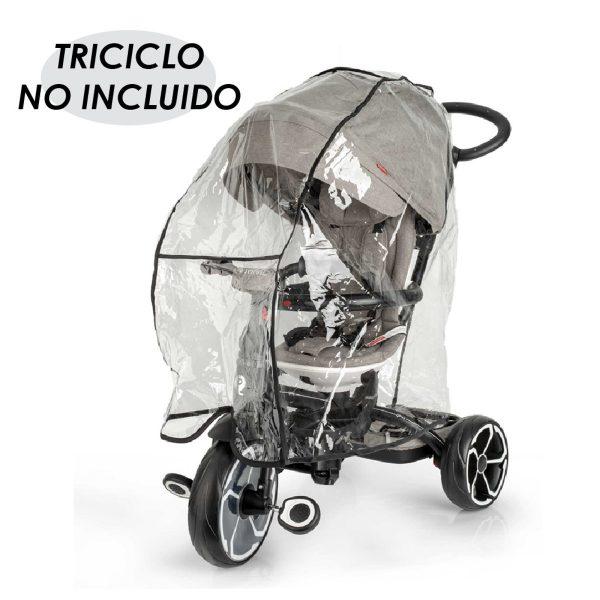 cubierta triciclos lluvia
