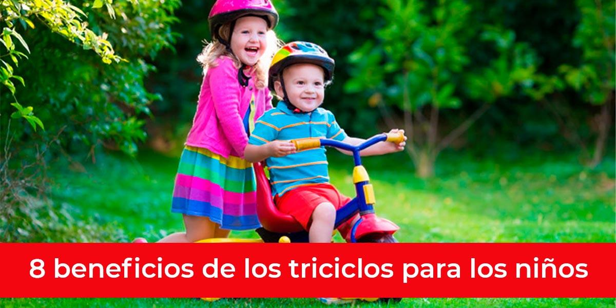 8 beneficios triciclos ninos