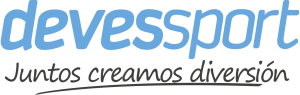 logo DEVESSPORT blanco
