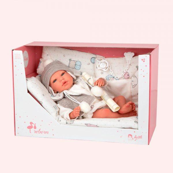 bebe reborn vega con manta 4