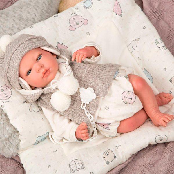 bebe reborn vega con manta